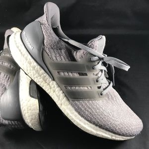 Adidas UltraBoost 3.0 Womens S82052 Grey White 9